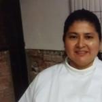Maryuri auxiliar en Masdeu Hogar, residencia geriátrica.